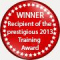 2013 Training Award