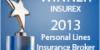 2013 Insurex Personal Lines Award