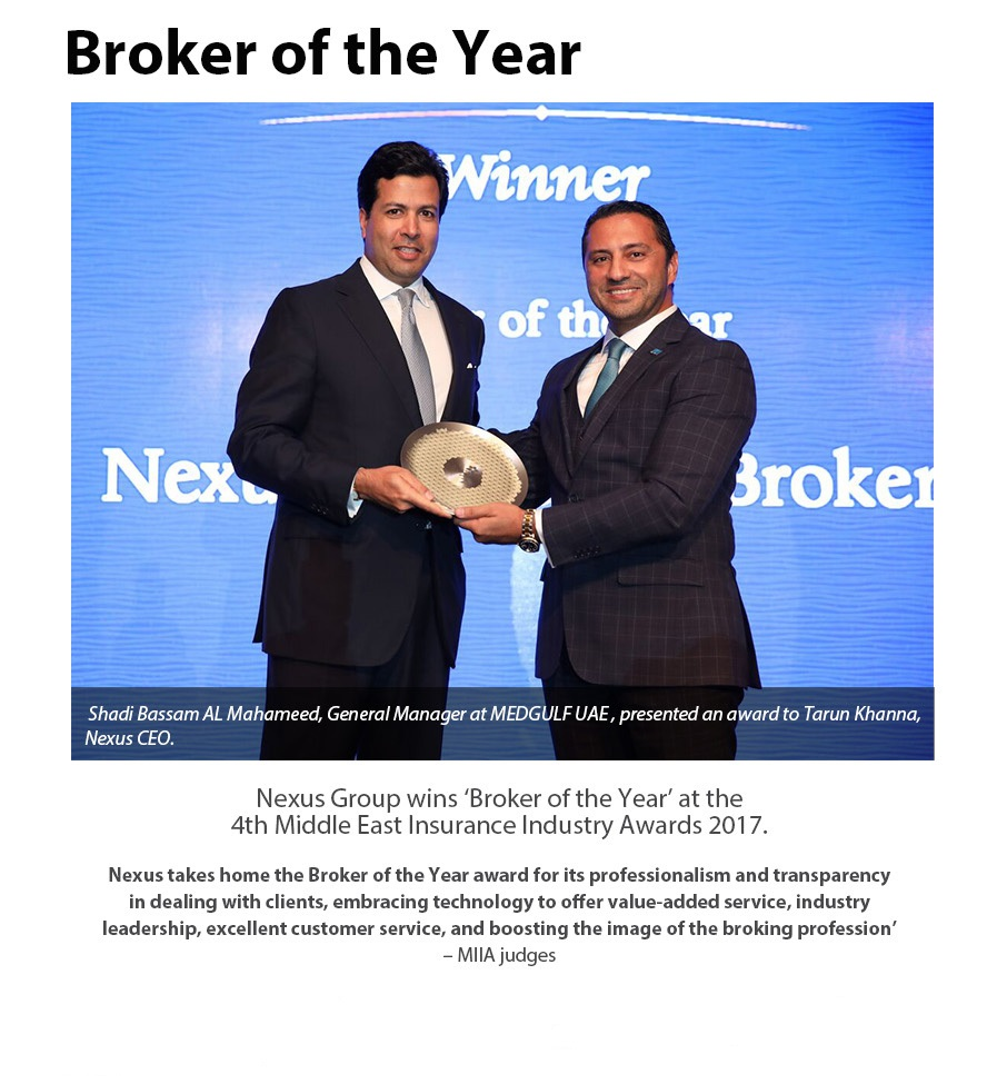 Insurance Broker Of The Year