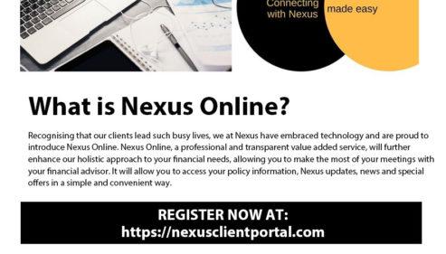 Nexus Online Portal is Live !
