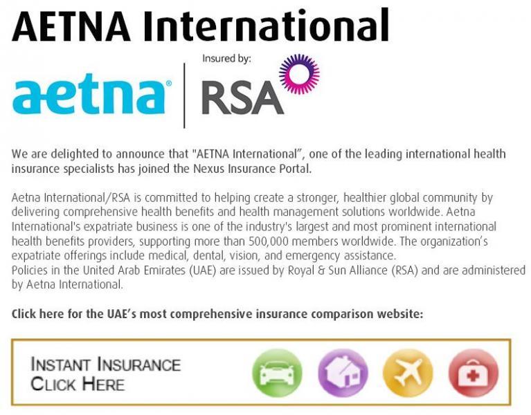 AETNA International 2014