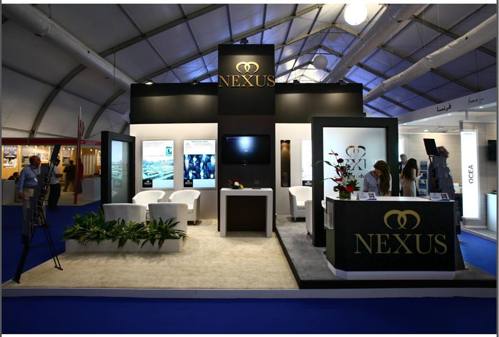 Boat Show Stand