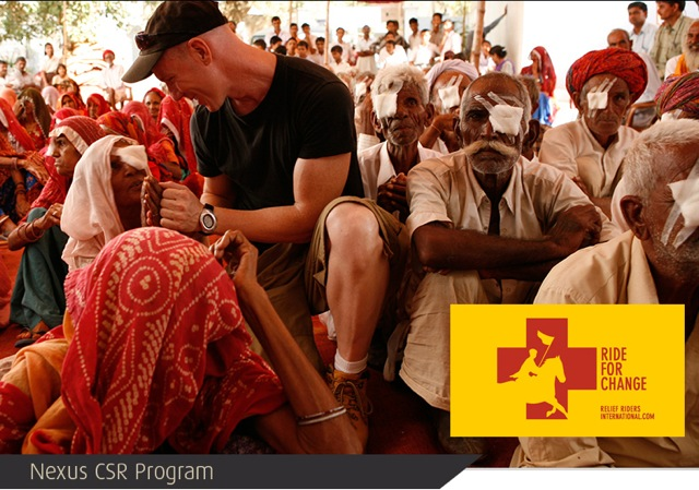 CSR Man with Eye Patients