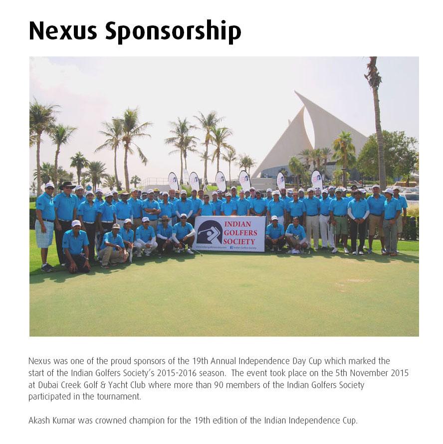 NX Indian Golf