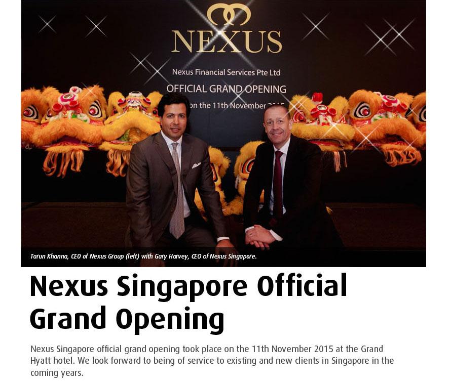 NX Singapore Opening Hyatt