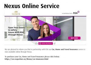 Nexus Online Service RSA 2018