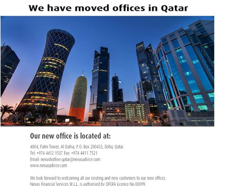 Qatar Office Move 2014